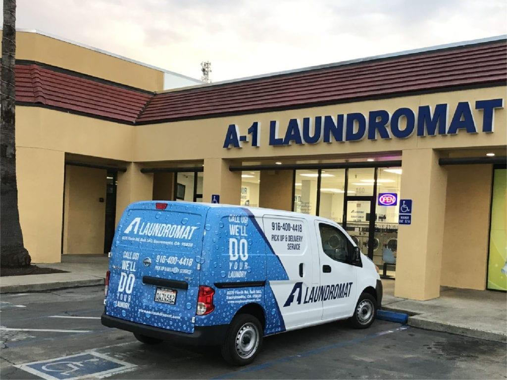 A1 Laundromat Sacramento 209 499 9079 Open 7am 10pm Daily